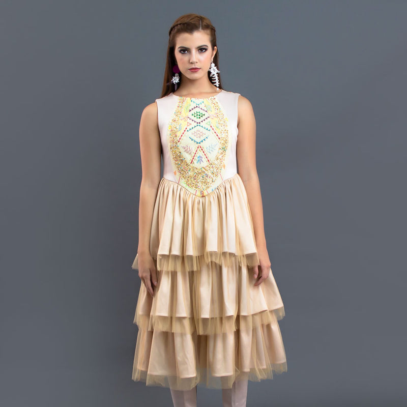 Leona Ruffle Dress