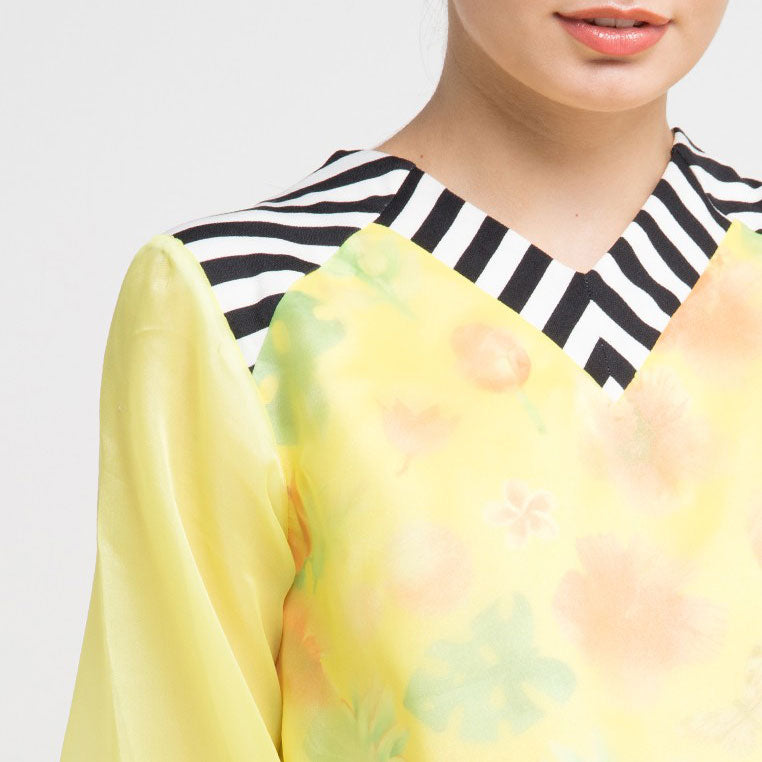 Jessila Top in Yellow Bliss-2Madison Avenue Indonesia