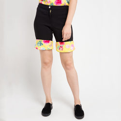 Hotpants in Frida Yellow Bliss-2Madison Avenue Indonesia