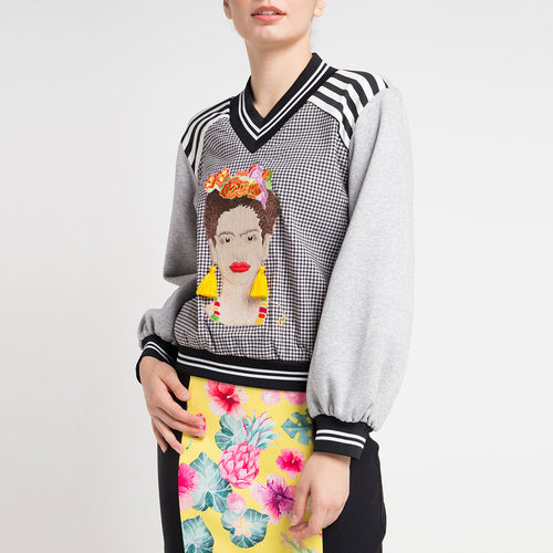 Carrie Sweater Frida Bliss-2Madison Avenue Indonesia