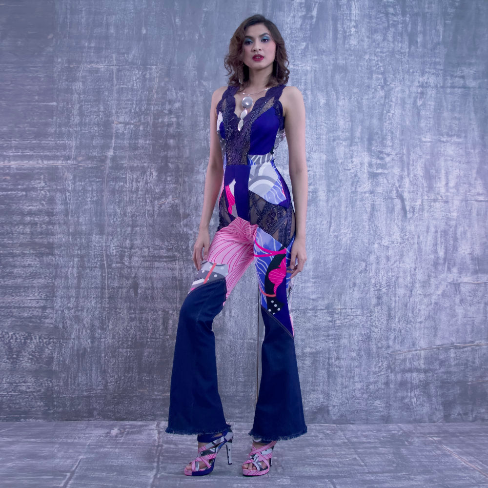 Evening Jumpsuit With Recharging Blue-2MADISONAVENUE.COM (4269193887786)