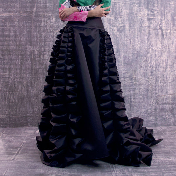 Vivify Evening Black Skirt