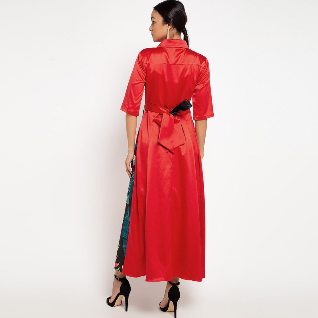 Regal Red Dress With Marilyn Red-2MADISONAVENUE.COM (3942556368938)