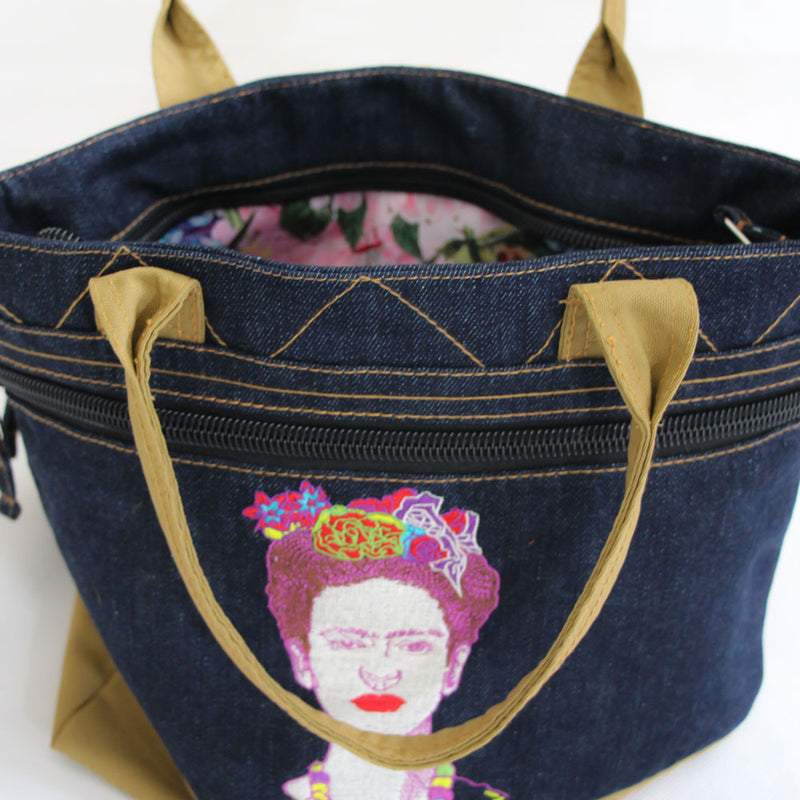 Sling Bag with Frida Kahlo Embroidery-2Madison Avenue Indonesia