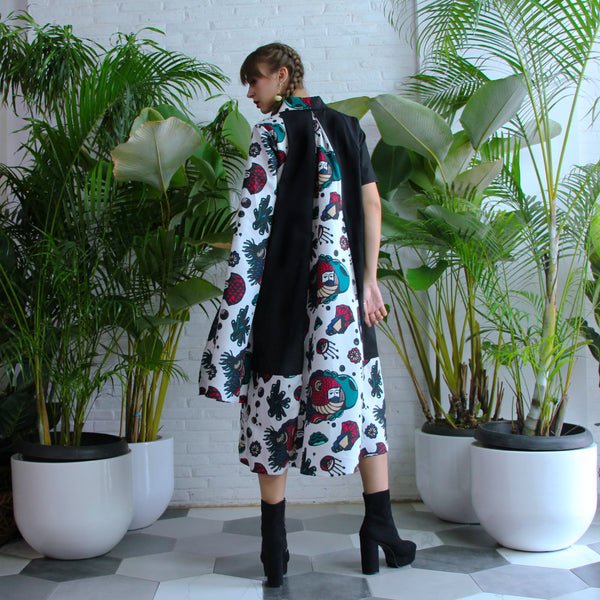 Harajuku Dress With DGTMB Floating Art