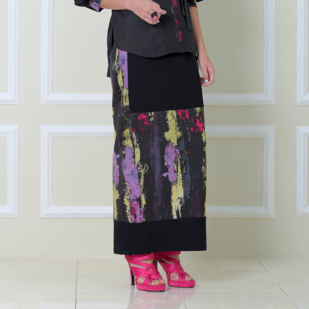 Gangsta Skirt With Abstract Black Reminiscence (6546988531735)
