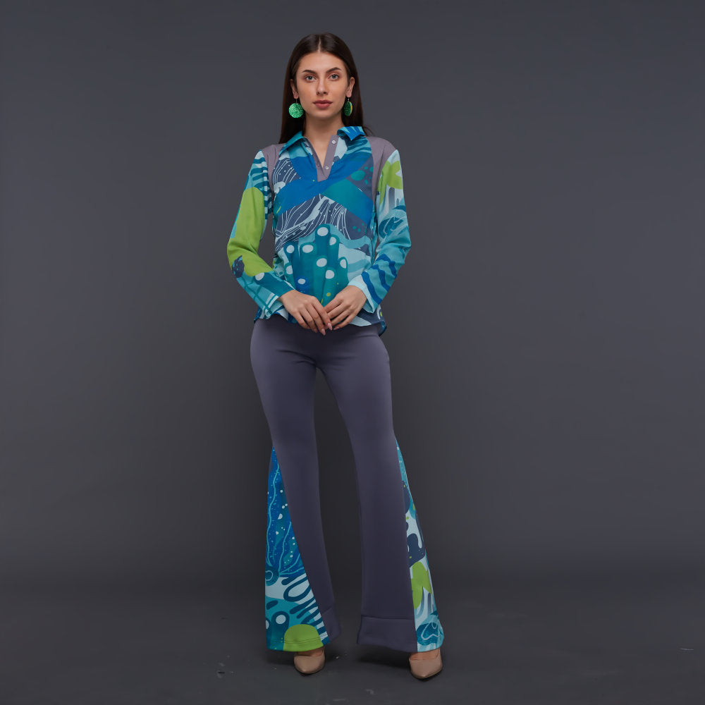 Groovy Top With Liga Aqua (4830044618775)