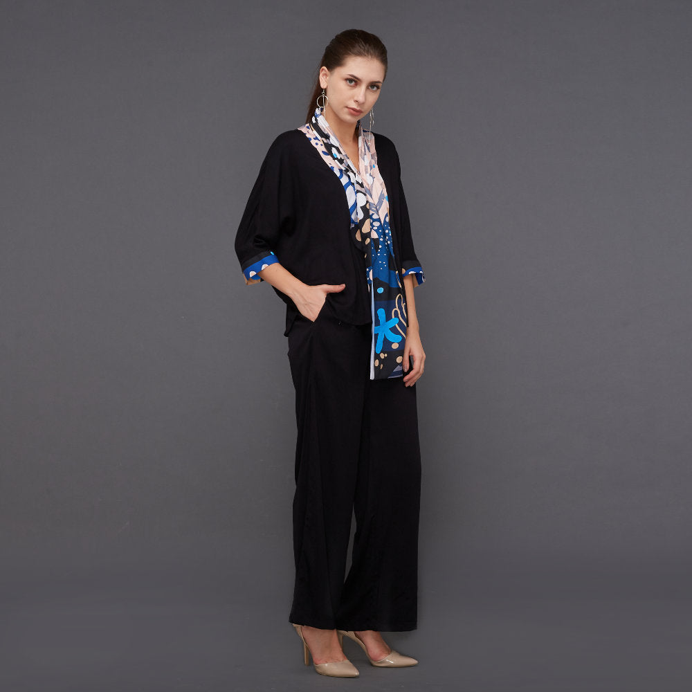 Hana Lounge Wear With Liga Deep Blue (4534817685527)