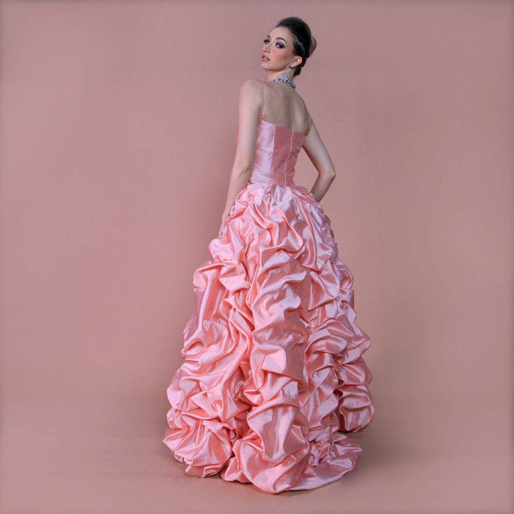 Liga Susi Evening Dress in Dusty Pink