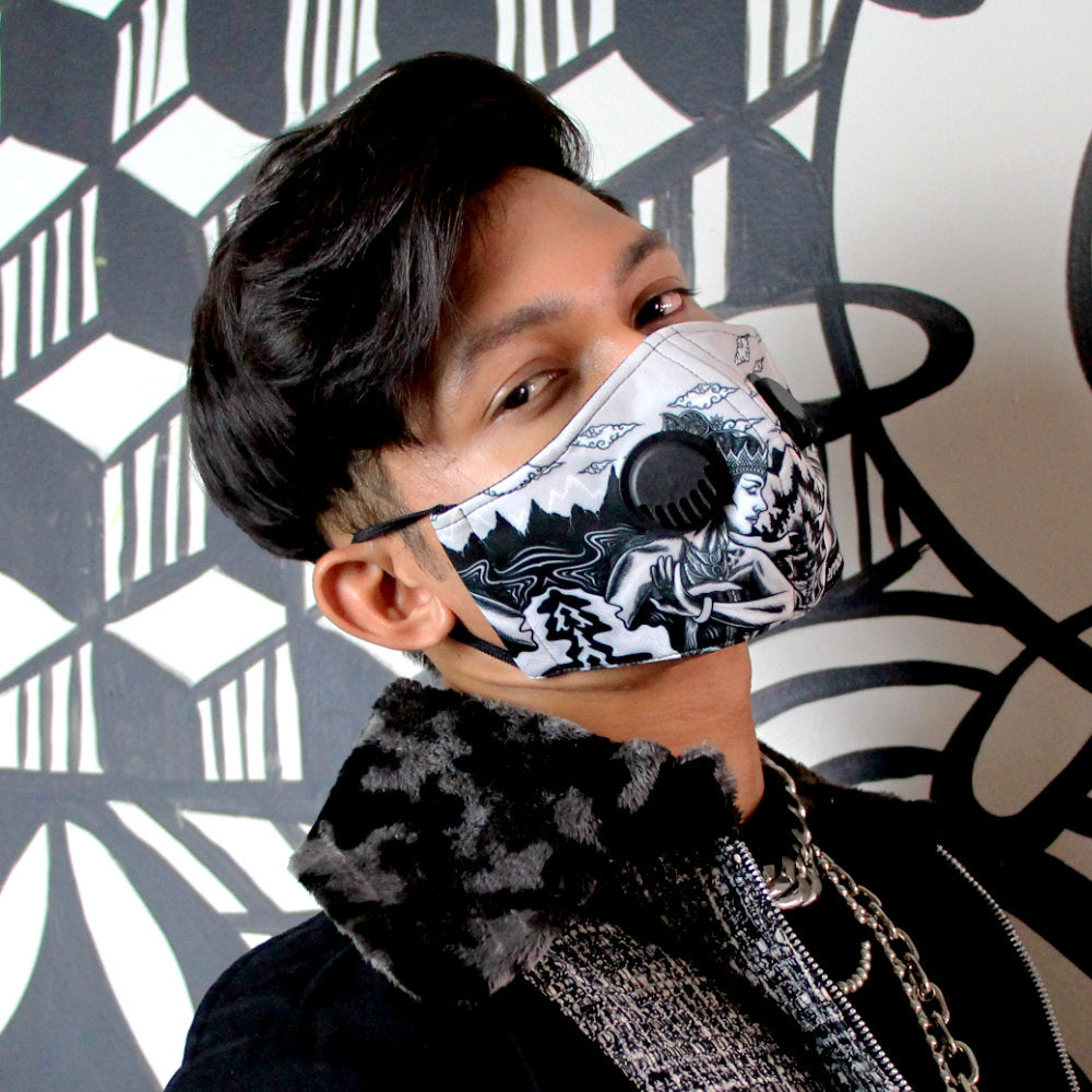 2Madison X Young Surakarta Facemask With Valve #2