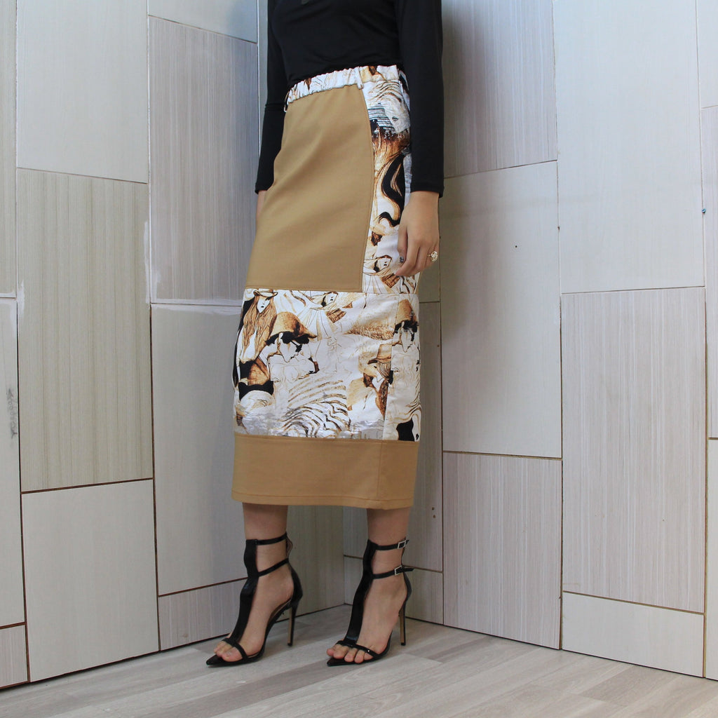 Gangsta Skirt With Parisian Brown (4831685378071)