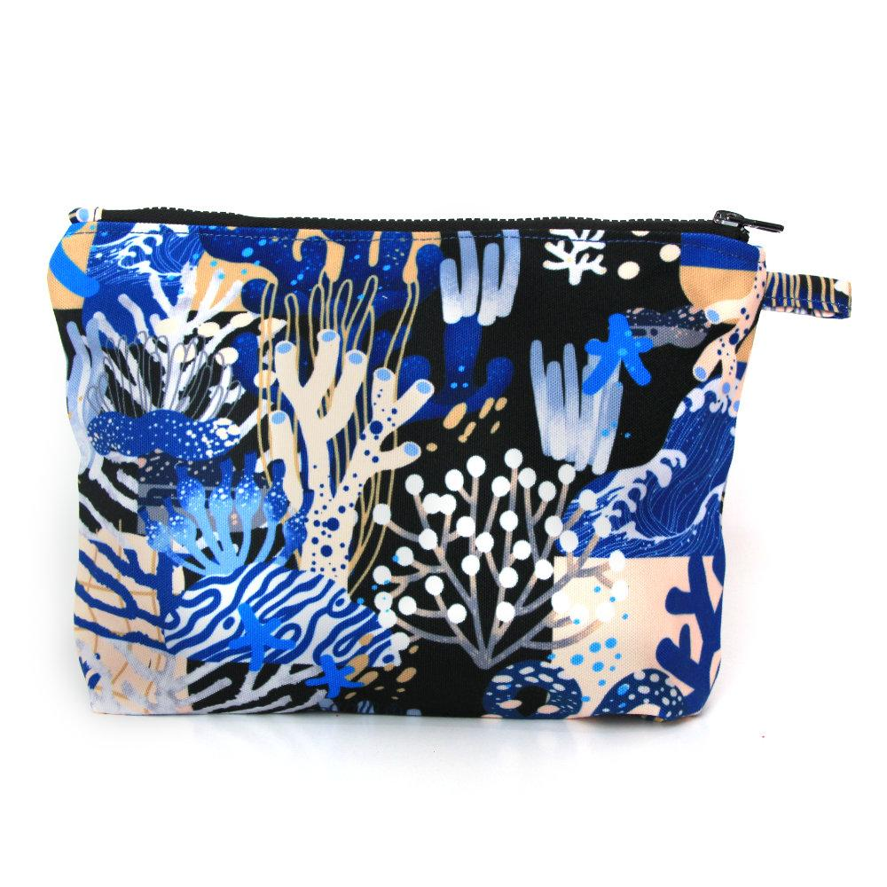 Pouch Liga in Deep Blue (4835387703319)