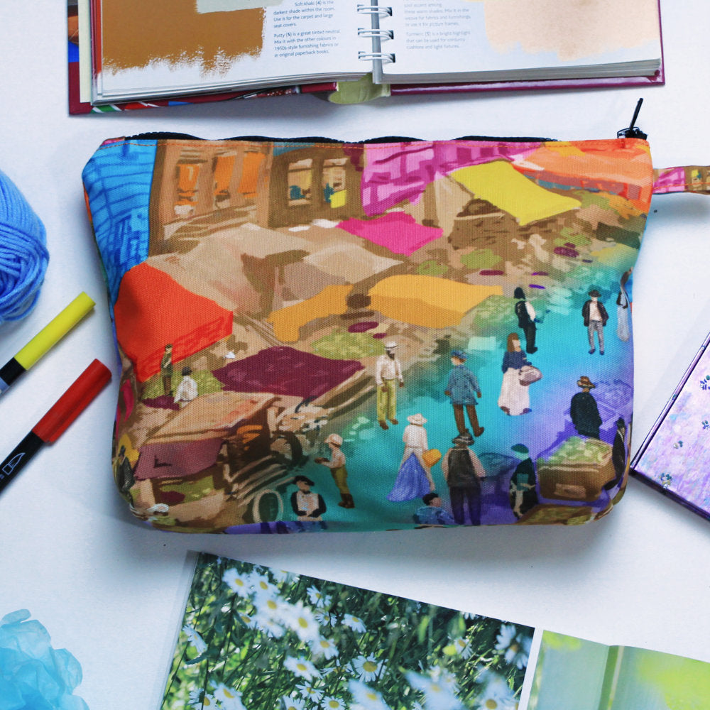 Pouch With Recoloring-2MADISONAVENUE.COM
