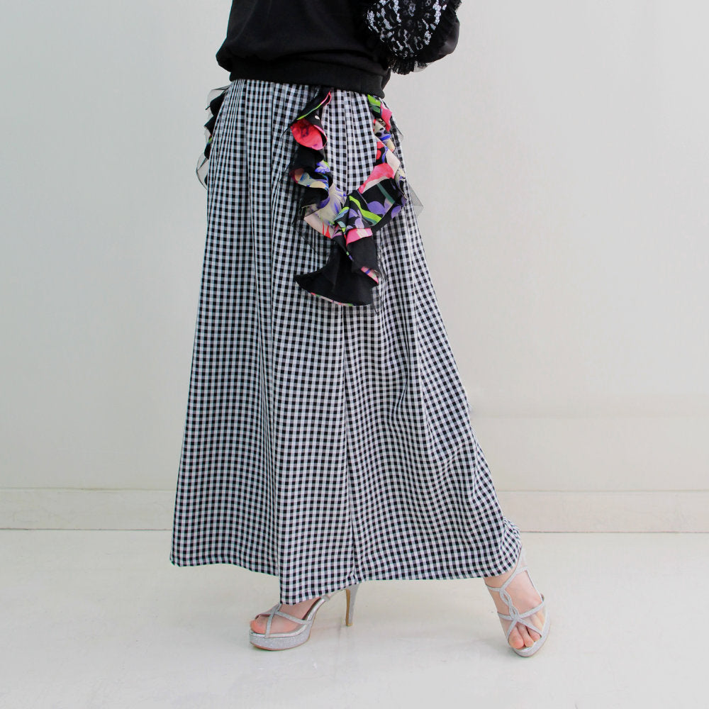 Kahlo Skirt With Reminiscence Accent (6546132664343)