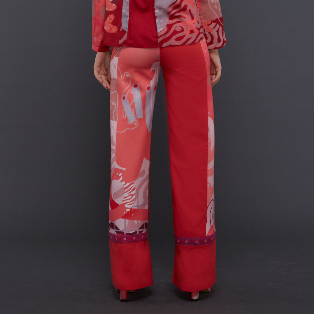 Liga Signature Cullote Pants In Pink Rose (4826692419607)