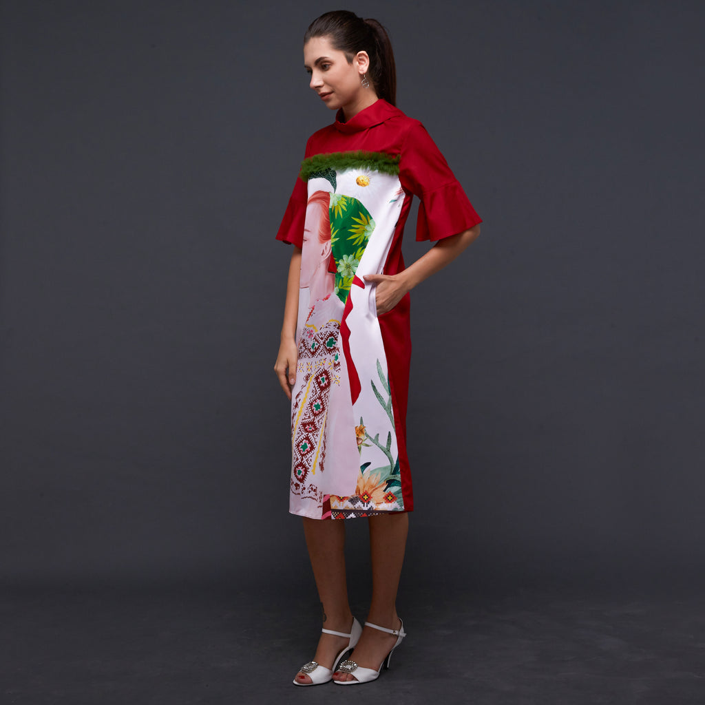 Morgan Dress With First Earth Art (4822122496023)