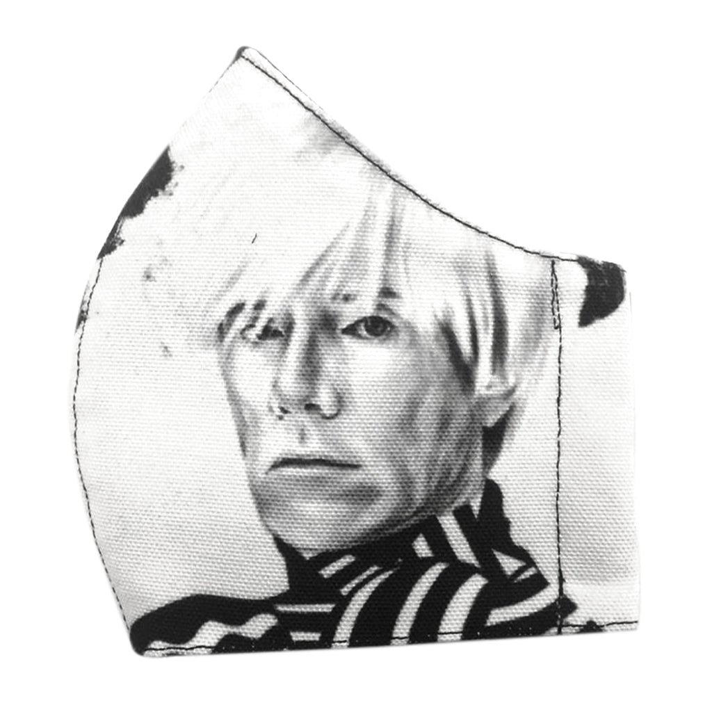 Premium Andy Warhol Facemask With Air Valve
