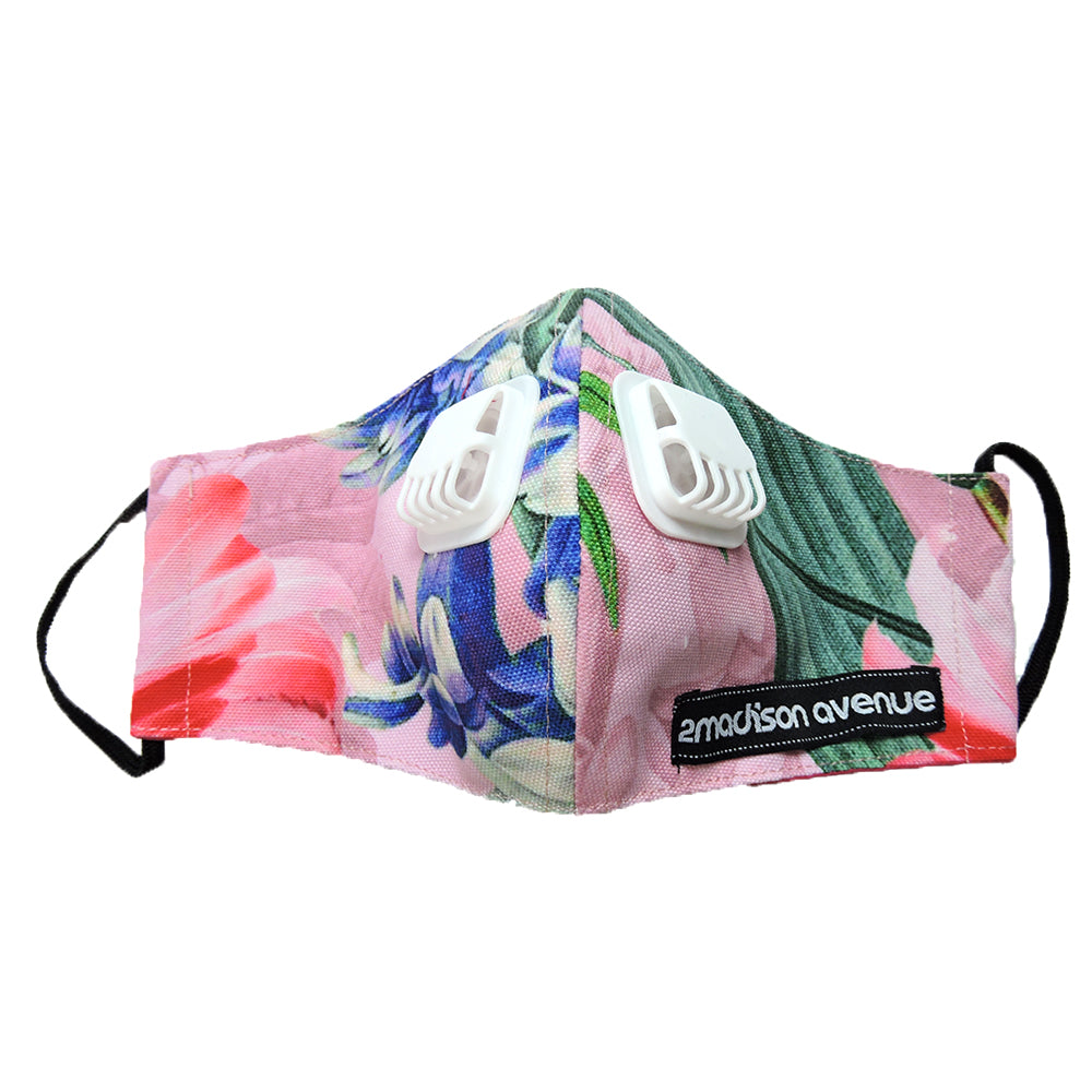 Miami Pink Premium Facemask With Air Valve-2MADISONAVENUE.COM