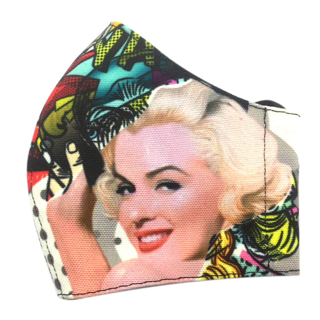 Premium Marilyn Pow Facemask With Air Valve (4443078852631)