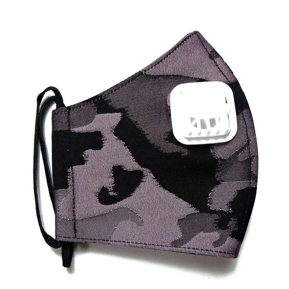 Army Pink Facemask With Air Valve-2MADISONAVENUE.COM (4418794127383)