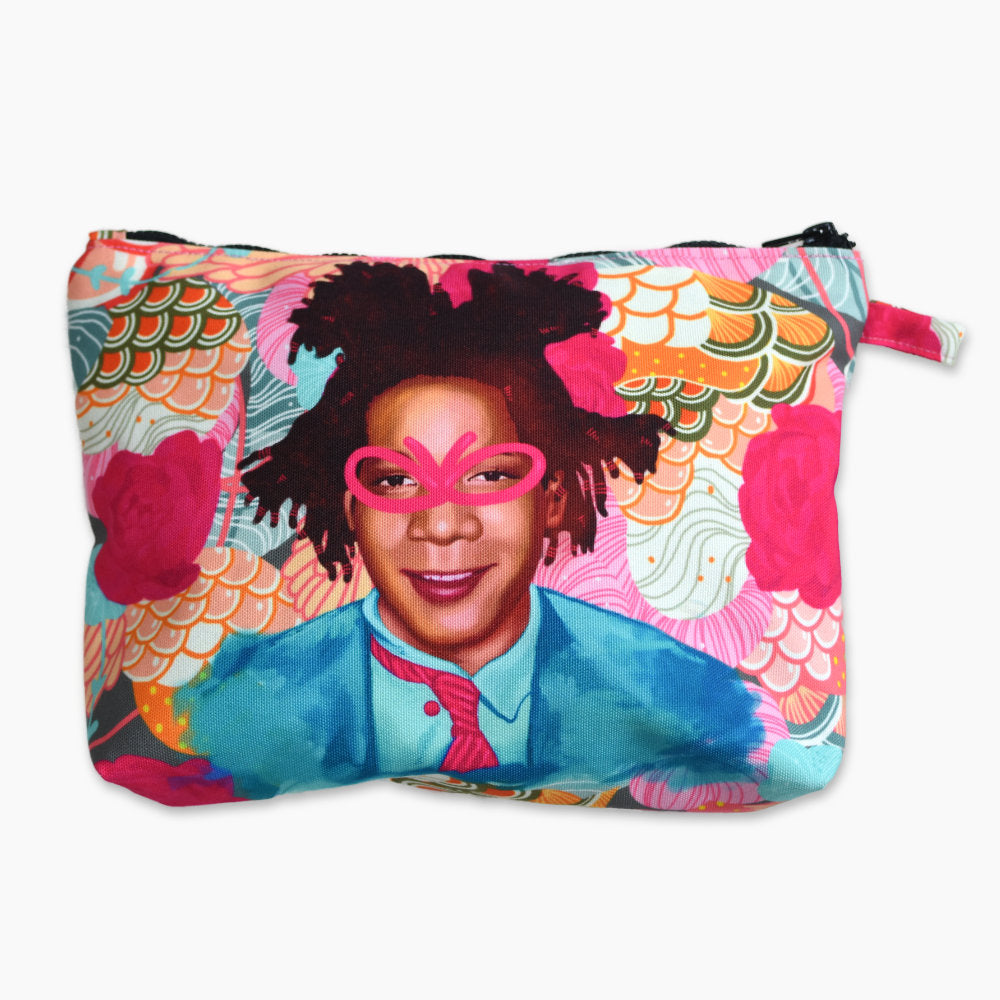 Pouch With Recharging Jean Basquiat-2MADISONAVENUE.COM