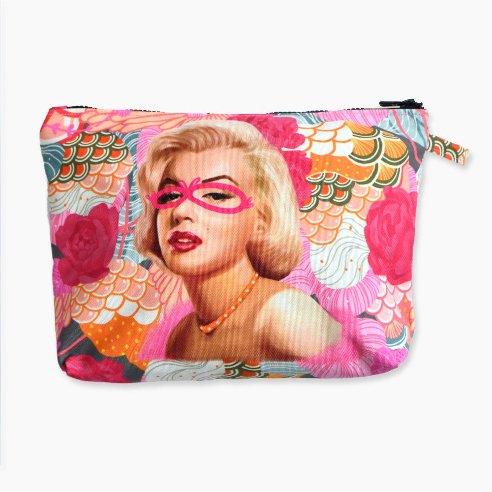 Pouch With Recharging Marilyn Art-2MADISONAVENUE.COM (4344458510359)
