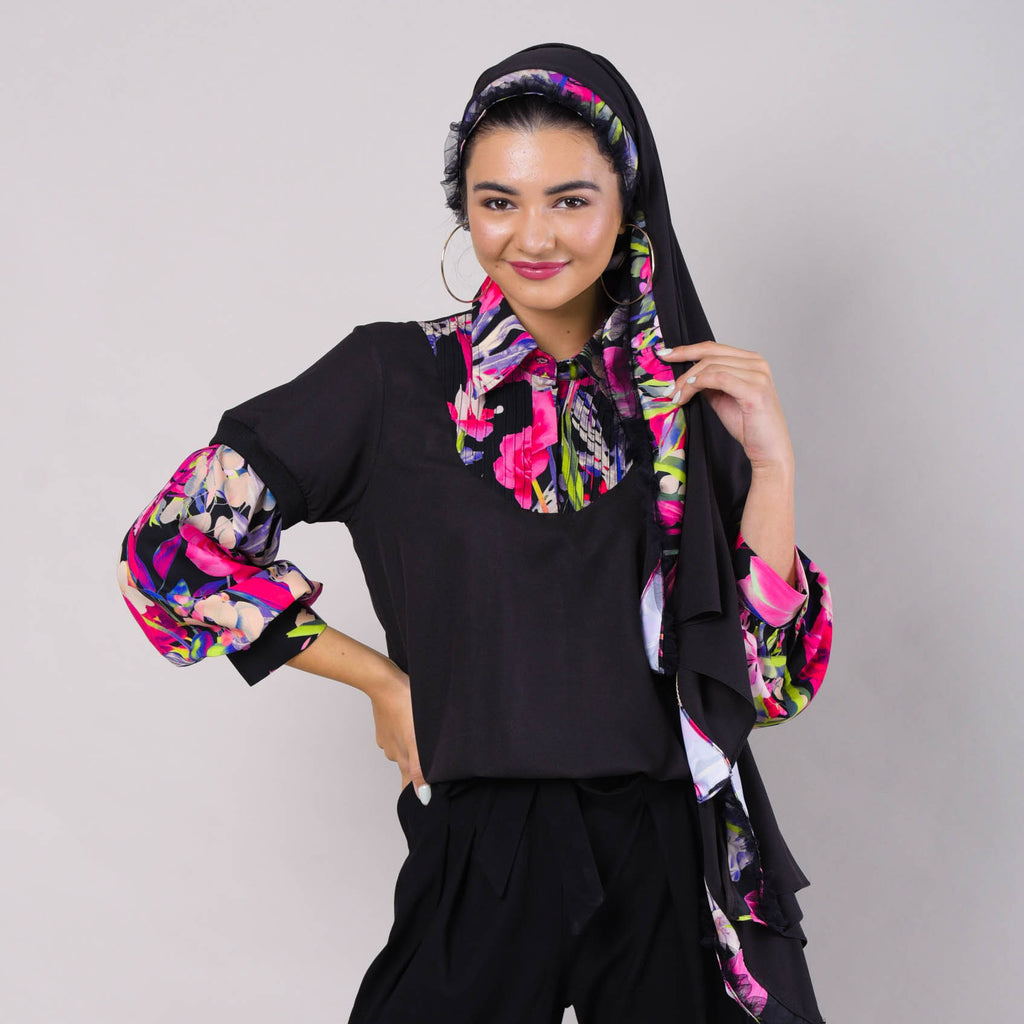 Layering Reg Top With Lovely Black Reminiscence (6544260792343)