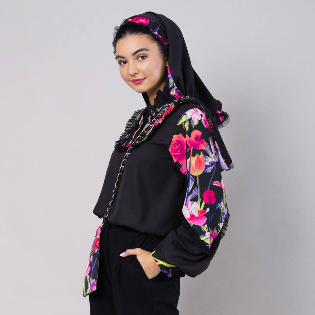 Romantic Top With Lovely Black Reminiscence (6544262234135)
