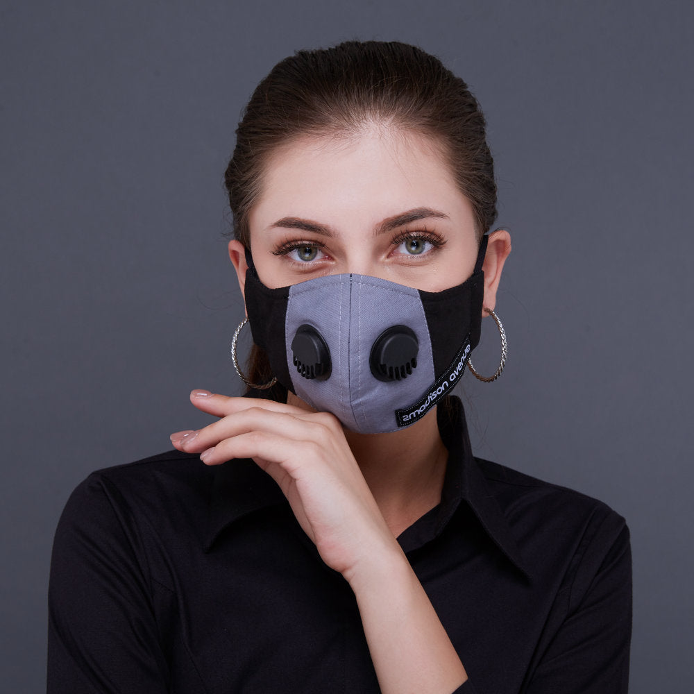 Workwear#5 Facemask With Air Valve (4492494897175)