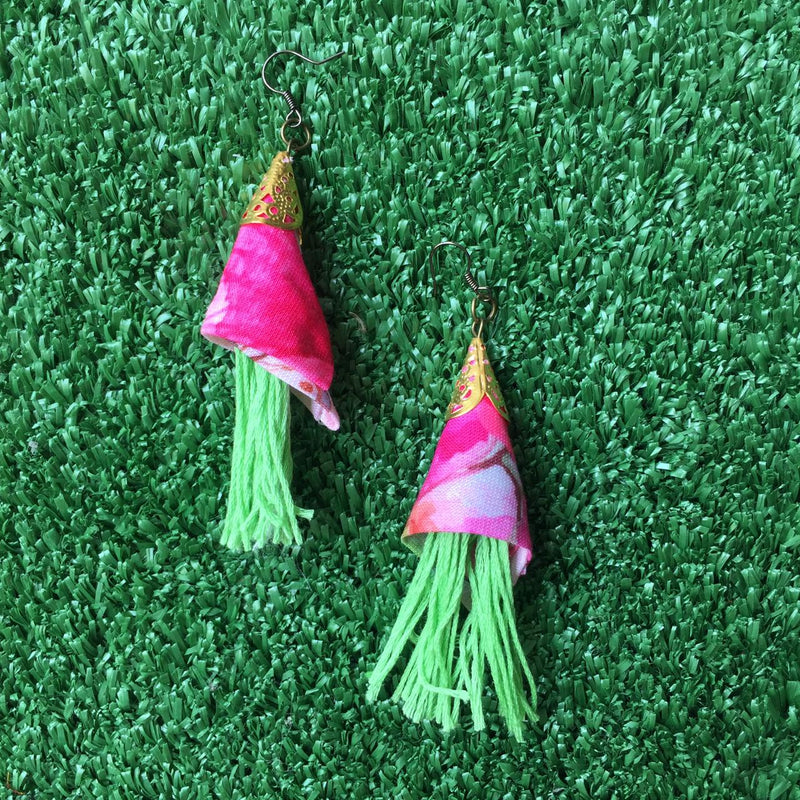 Cone tassels Earrings-2Madison Avenue Indonesia