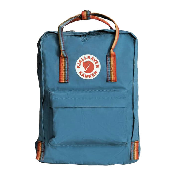 Fjallraven Kanken Rainbow Backpack Lake Blue-2MADISONAVENUE.COM