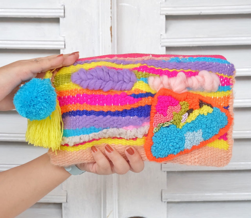 Gambira Handwoven Clutch-2MADISONAVENUE.COM