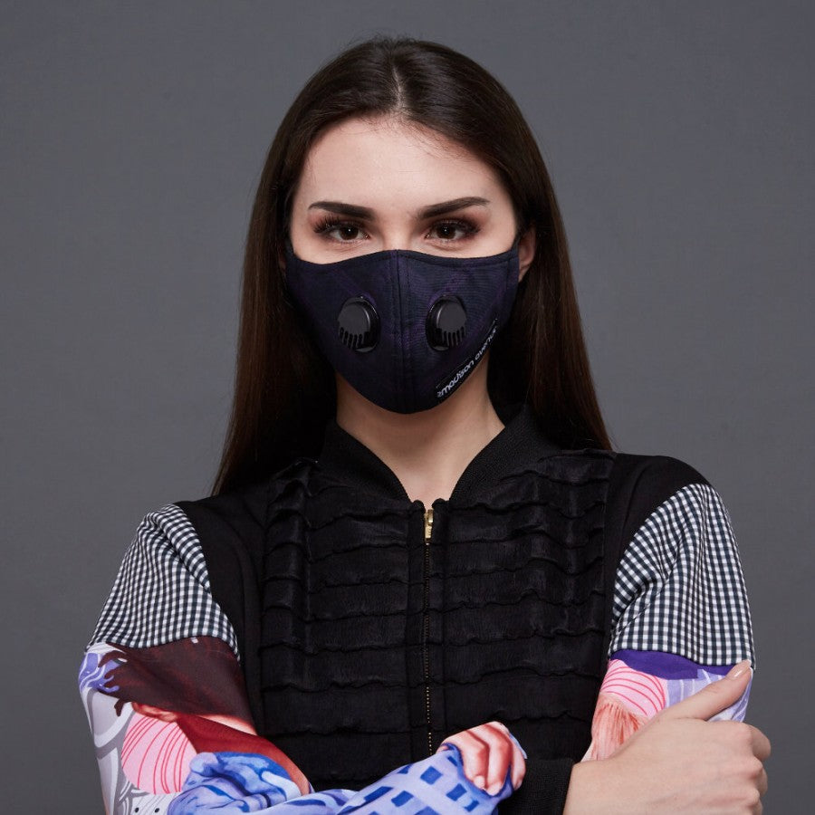 Exclusive Workwear #2 Facemask With Air Valve (4849487347735)