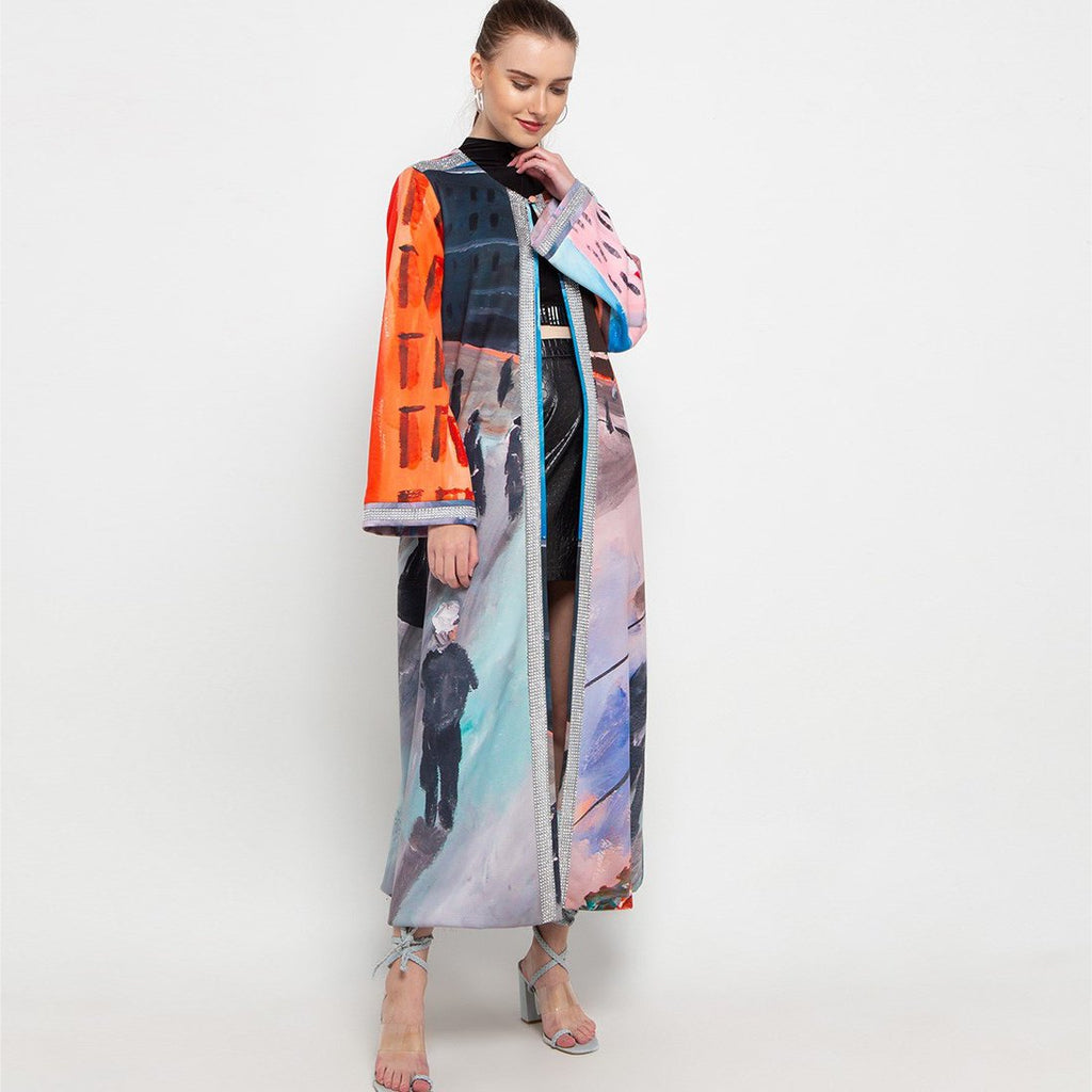 Glam Long Outer With Downmidup Art-2MADISONAVENUE.COM (4341850800151)