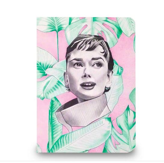 Audrey In Pink Artbook-2MADISONAVENUE.COM