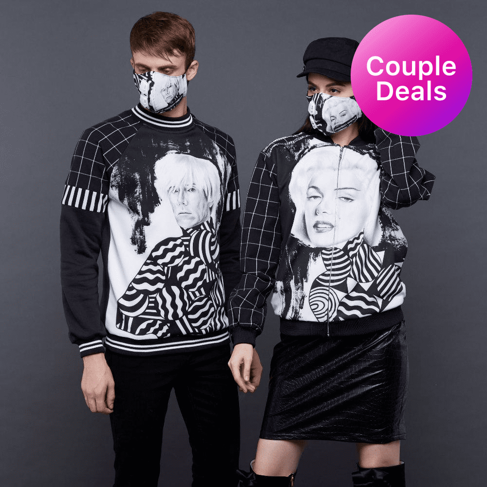 Paket Hemat Couple's Outfit with Artsy (4852580384791)