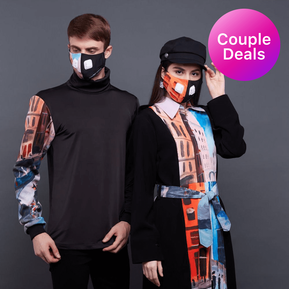 Paket Hemat Couple's Outfit with Downmidup Art (4852587626519)