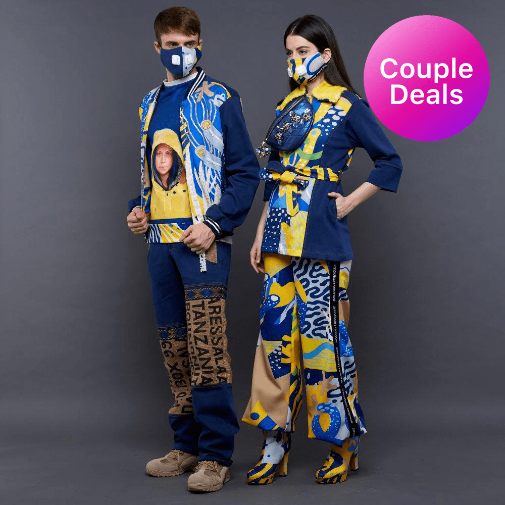 Paket Hemat Couple's Outfit with LIGA Art (4852592410647)