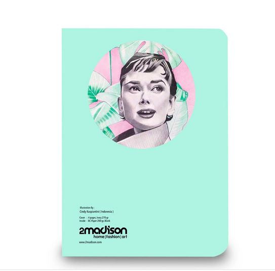 Audrey In Pink Artbook-2MADISONAVENUE.COM (1829419614250)
