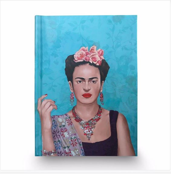 Frida Kahlo Blue Premium Artbook-2MADISONAVENUE.COM