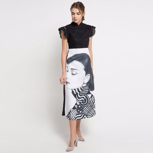 The Audrey Black Dress-2Madison Avenue Indonesia