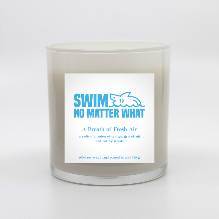 the swimmer's candle