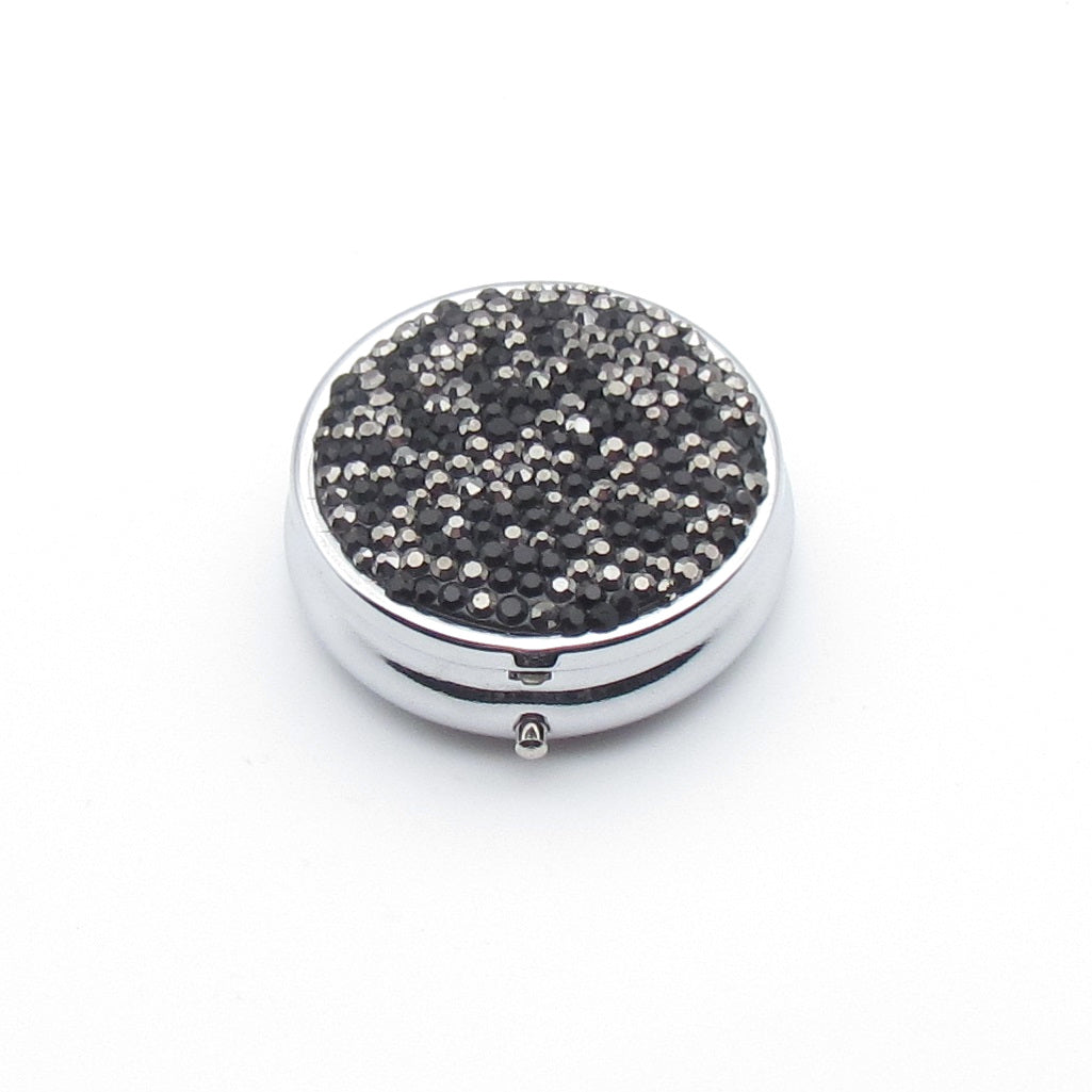 Handcraft  Rhinestone Small Round Table Box