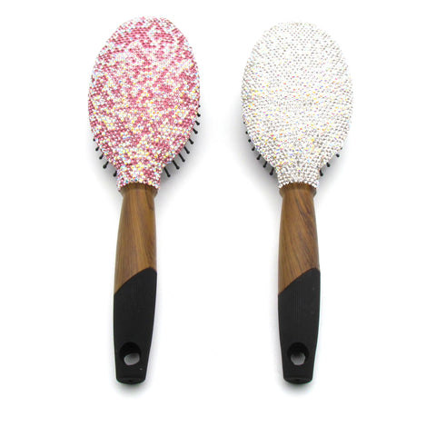 Handcraft Rhinestone Hair Brush