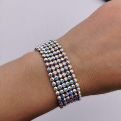 Swarovski element bracelet