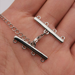 S925 sterling silver adjustable clasp