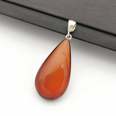 S925 Baltic cherry amber