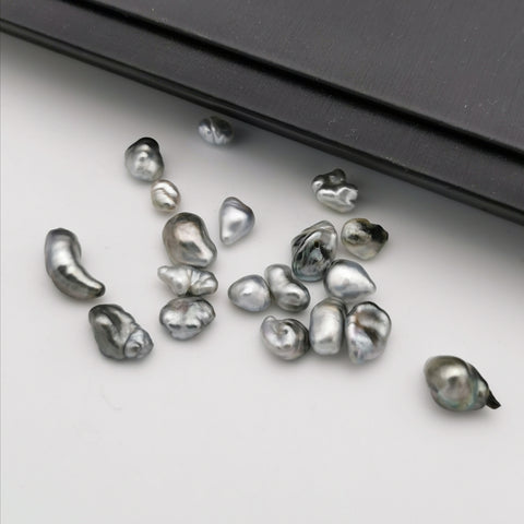 5-8 mm genuine Keshi Cook island pearl set