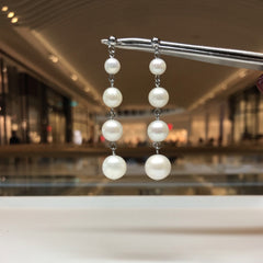 Fashion and elegant freshwater pearl earring