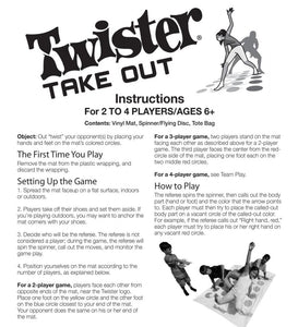 The Twister party game never fails - Wilder Party